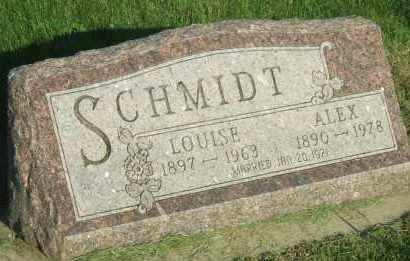 SCHMIDT, LOUISE - Hutchinson County, South Dakota | LOUISE SCHMIDT - South Dakota Gravestone Photos