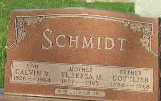 SCHMIDT, THERESA M. - Hutchinson County, South Dakota | THERESA M. SCHMIDT - South Dakota Gravestone Photos