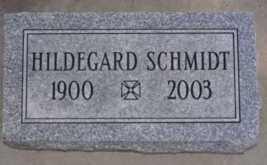 SCHMIDT, HILDEGARD - Hutchinson County, South Dakota   HILDEGARD SCHMIDT - South Dakota Gravestone Photos