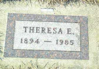 SCHMIDT, THERESA - Hutchinson County, South Dakota | THERESA SCHMIDT - South Dakota Gravestone Photos