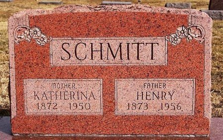 SCHMITT, HENRY - Hutchinson County, South Dakota | HENRY SCHMITT - South Dakota Gravestone Photos