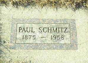 SCHMITZ, PAUL - Hutchinson County, South Dakota | PAUL SCHMITZ - South Dakota Gravestone Photos