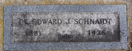 SCHNAIDT, EDWARD J - Hutchinson County, South Dakota | EDWARD J SCHNAIDT - South Dakota Gravestone Photos