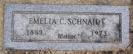 SCHNAIDT, EMELIA C - Hutchinson County, South Dakota | EMELIA C SCHNAIDT - South Dakota Gravestone Photos