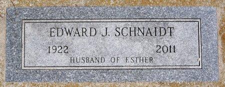 SCHNAIDT, EDWARD J JR - Hutchinson County, South Dakota | EDWARD J JR SCHNAIDT - South Dakota Gravestone Photos