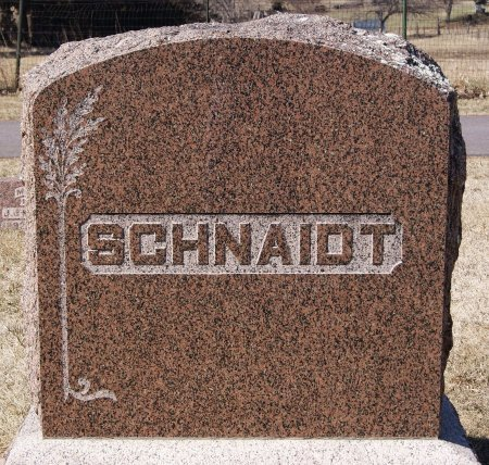 SCHNAIDT, FAMILY MARKER - Hutchinson County, South Dakota | FAMILY MARKER SCHNAIDT - South Dakota Gravestone Photos