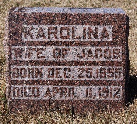 SCHNAIDT, KAROLINA - Hutchinson County, South Dakota   KAROLINA SCHNAIDT - South Dakota Gravestone Photos