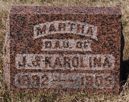 SCHNAIDT, MARTHA - Hutchinson County, South Dakota | MARTHA SCHNAIDT - South Dakota Gravestone Photos