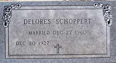 SCHOPPERT, DELORES - Hutchinson County, South Dakota | DELORES SCHOPPERT - South Dakota Gravestone Photos