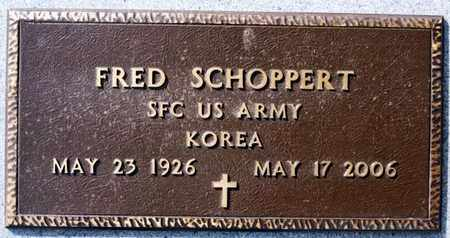 SCHOPPERT, FRED (KOREA) - Hutchinson County, South Dakota   FRED (KOREA) SCHOPPERT - South Dakota Gravestone Photos