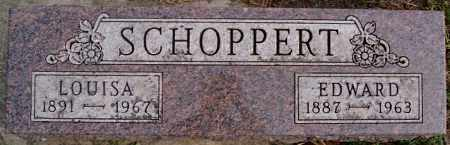 SCHOPPERT, EDWARD - Hutchinson County, South Dakota | EDWARD SCHOPPERT - South Dakota Gravestone Photos