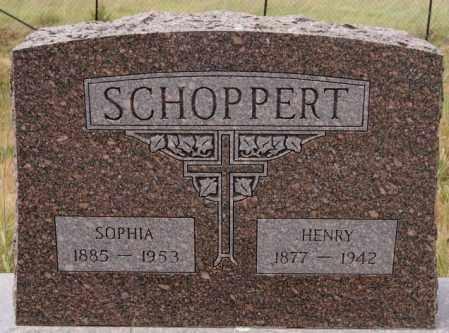 SCHOPPERT, HENRY - Hutchinson County, South Dakota   HENRY SCHOPPERT - South Dakota Gravestone Photos