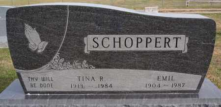 SCHOPPERT, EMIL - Hutchinson County, South Dakota | EMIL SCHOPPERT - South Dakota Gravestone Photos