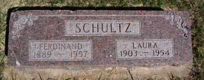 SCHULTZ, FERDINAND - Hutchinson County, South Dakota | FERDINAND SCHULTZ - South Dakota Gravestone Photos