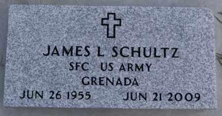 SCHULTZ, JAMES L (GRENADA) - Hutchinson County, South Dakota | JAMES L (GRENADA) SCHULTZ - South Dakota Gravestone Photos
