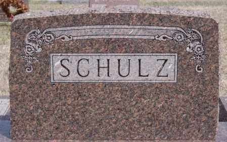 SCHULZ, FAMILY MARKER - Hutchinson County, South Dakota | FAMILY MARKER SCHULZ - South Dakota Gravestone Photos