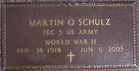 SCHULZ, MARTIN O (WWII) - Hutchinson County, South Dakota | MARTIN O (WWII) SCHULZ - South Dakota Gravestone Photos