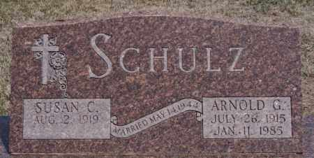 SCHULZ, ARNOLD G - Hutchinson County, South Dakota | ARNOLD G SCHULZ - South Dakota Gravestone Photos