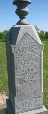 SHEARER, DANIEL - Hutchinson County, South Dakota | DANIEL SHEARER - South Dakota Gravestone Photos
