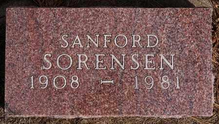 SORENSON, SANFORD - Hutchinson County, South Dakota | SANFORD SORENSON - South Dakota Gravestone Photos