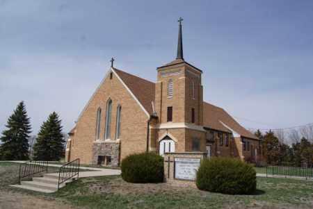 **ST. PETER, LUTHERAN CHURCH - Hutchinson County, South Dakota   LUTHERAN CHURCH **ST. PETER - South Dakota Gravestone Photos