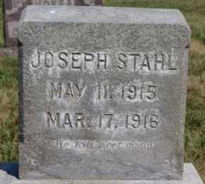 STAHL, JOSEPH - Hutchinson County, South Dakota | JOSEPH STAHL - South Dakota Gravestone Photos