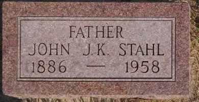 STAHL, JOHN J K - Hutchinson County, South Dakota | JOHN J K STAHL - South Dakota Gravestone Photos