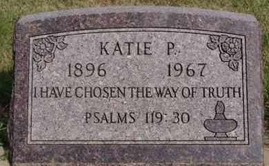 STAHL, KATIE P - Hutchinson County, South Dakota   KATIE P STAHL - South Dakota Gravestone Photos