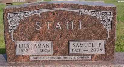 STAHL, LILY - Hutchinson County, South Dakota | LILY STAHL - South Dakota Gravestone Photos
