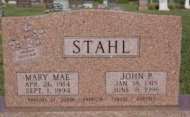 STAHL, JOHN P - Hutchinson County, South Dakota | JOHN P STAHL - South Dakota Gravestone Photos