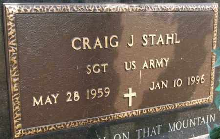 STAHL, CRAIG J (MILITARY) - Hutchinson County, South Dakota | CRAIG J (MILITARY) STAHL - South Dakota Gravestone Photos