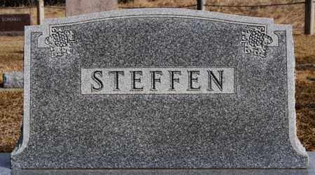STEFFEN, FAMILY MARKER - Hutchinson County, South Dakota | FAMILY MARKER STEFFEN - South Dakota Gravestone Photos
