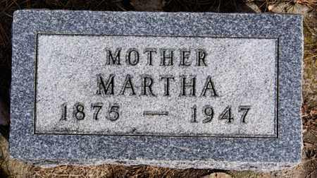 STEFFEN, MARTHA - Hutchinson County, South Dakota   MARTHA STEFFEN - South Dakota Gravestone Photos
