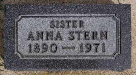 STERN, ANNA - Hutchinson County, South Dakota | ANNA STERN - South Dakota Gravestone Photos