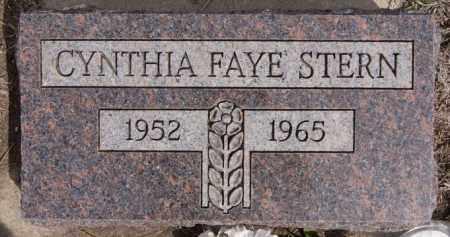 STERN, CYNTHIA FAYE - Hutchinson County, South Dakota | CYNTHIA FAYE STERN - South Dakota Gravestone Photos