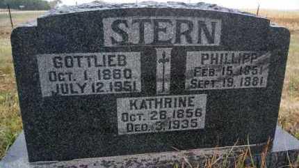 STERN, GOTTLIEB - Hutchinson County, South Dakota | GOTTLIEB STERN - South Dakota Gravestone Photos