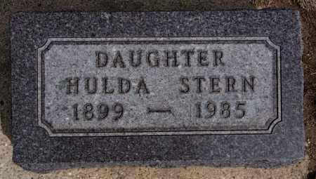 STERN, HULDA - Hutchinson County, South Dakota | HULDA STERN - South Dakota Gravestone Photos