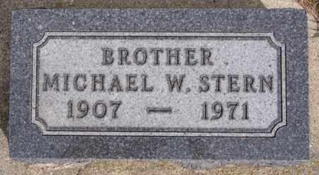 STERN, MICHAEL W - Hutchinson County, South Dakota | MICHAEL W STERN - South Dakota Gravestone Photos