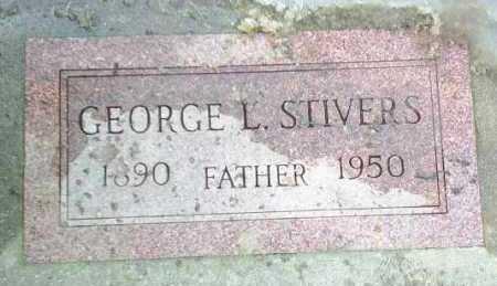 STIVERS, GEORGE - Hutchinson County, South Dakota | GEORGE STIVERS - South Dakota Gravestone Photos