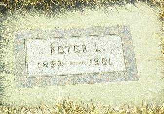 SUDBECK, PETER - Hutchinson County, South Dakota | PETER SUDBECK - South Dakota Gravestone Photos