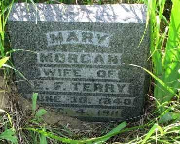 MORGAN TERRY, MARY - Hutchinson County, South Dakota | MARY MORGAN TERRY - South Dakota Gravestone Photos
