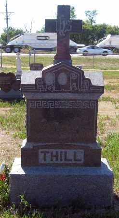 THILL, FAMILY STONE - Hutchinson County, South Dakota | FAMILY STONE THILL - South Dakota Gravestone Photos