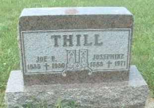 THILL, JOE P. - Hutchinson County, South Dakota   JOE P. THILL - South Dakota Gravestone Photos