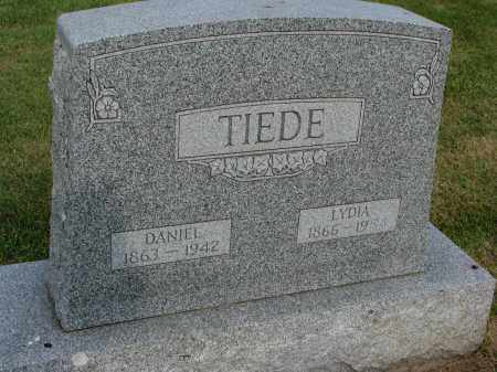 TIEDE, DANIEL - Hutchinson County, South Dakota | DANIEL TIEDE - South Dakota Gravestone Photos