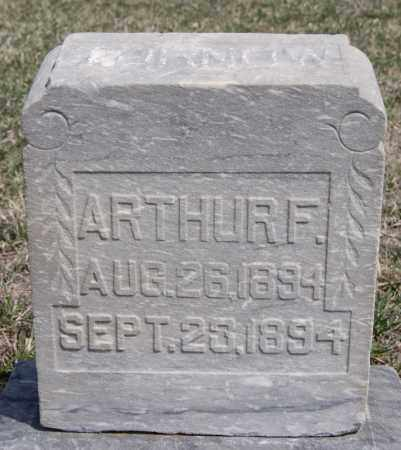 TORNOW, ARTHUR F - Hutchinson County, South Dakota | ARTHUR F TORNOW - South Dakota Gravestone Photos