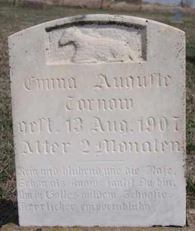 TORNOW, EMMA AUGUSTE - Hutchinson County, South Dakota | EMMA AUGUSTE TORNOW - South Dakota Gravestone Photos