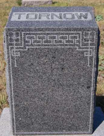 TORNOW, FAMILY MARKER - Hutchinson County, South Dakota | FAMILY MARKER TORNOW - South Dakota Gravestone Photos
