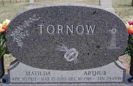 TORNOW, MATILDA - Hutchinson County, South Dakota | MATILDA TORNOW - South Dakota Gravestone Photos