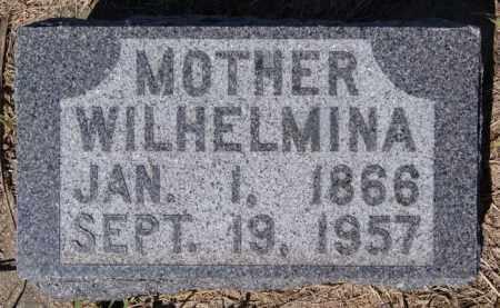 TORNOW, WILHELMINA - Hutchinson County, South Dakota | WILHELMINA TORNOW - South Dakota Gravestone Photos