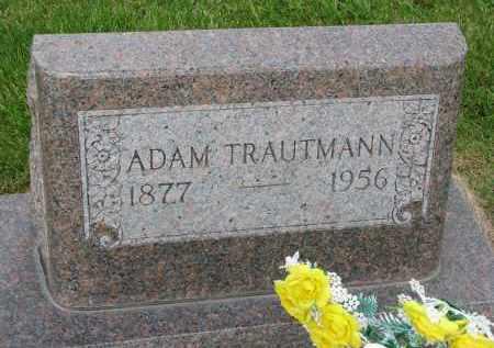 TRAUTMANN, ADAM - Hutchinson County, South Dakota   ADAM TRAUTMANN - South Dakota Gravestone Photos